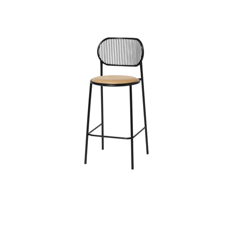 Piper Bar Chair - Upholstered Seat