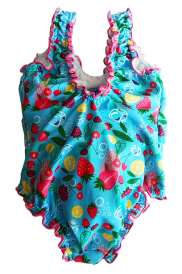 FIFA1-Toddler One Piece Swimsuit - Fruit Mood
