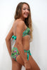 BCP004-Girls Two Piece Band Bikini Swimwear - Beach Party Mood