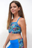BCP007-Girls Tank Top Sportwear - Beach Party Mood