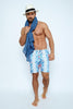 ENJ001-Men's Swimshort - Enjoy Summer Mood Printed