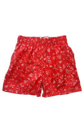 FH002-Boy's Tactel Printed Board Shorts - CAPRI LIFESTYLE READY MADE GARMENTS TRADING L.L.C