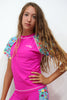 GRV025-Girls Rashvest Short Sleeves - Fruits Mood