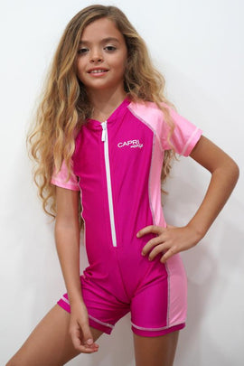 LE01-Girls Plain Jumpsuit - CAPRI LIFESTYLE READY MADE GARMENTS TRADING L.L.C