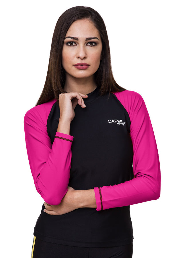 LRV11-Women Plain Rashvest Long Sleeves