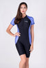LJS11-Women Jumpsuit Short Sleeves Swimwear