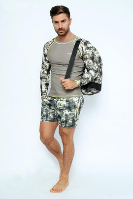 MRS02-Men's Racksack Bag - Mimetic Mood Printed - CAPRI LIFESTYLE READY MADE GARMENTS TRADING L.L.C
