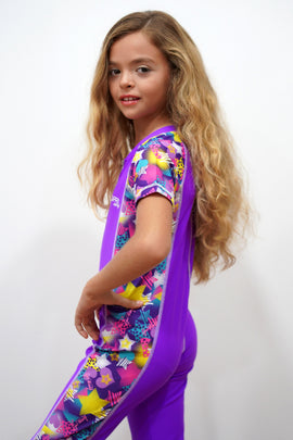 PST010-Girl Long Jumpsuit - Popstar Mood - CAPRI LIFESTYLE READY MADE GARMENTS TRADING L.L.C