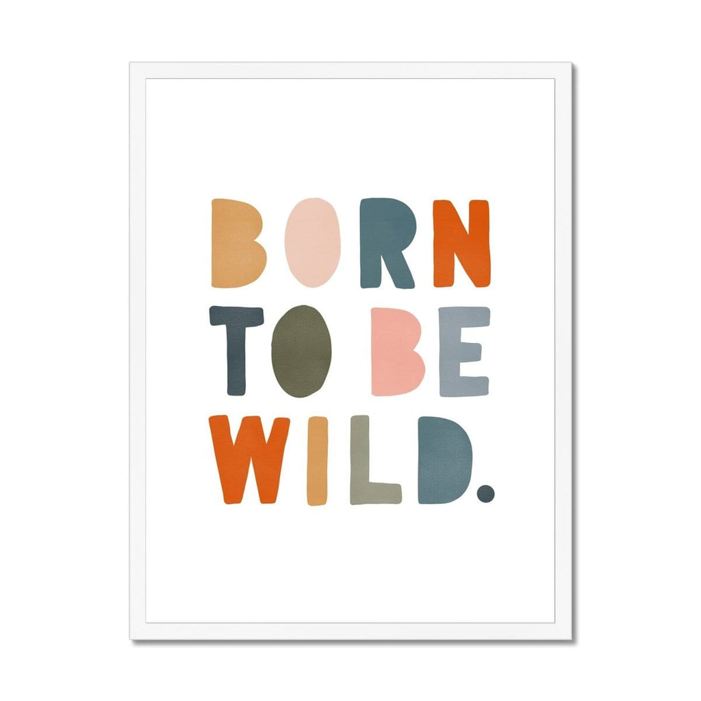Born To Be Wild Print - Magic Carpet |  Framed Print
