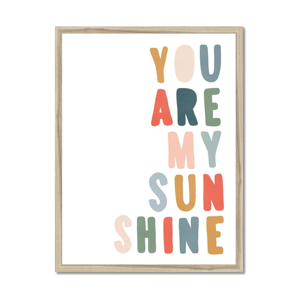 You Are My Sunshine - Magic Carpet |  Framed Print