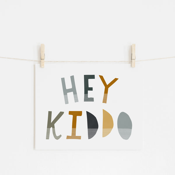 Hey Kiddo - Jungle (Landscape) |  Unframed