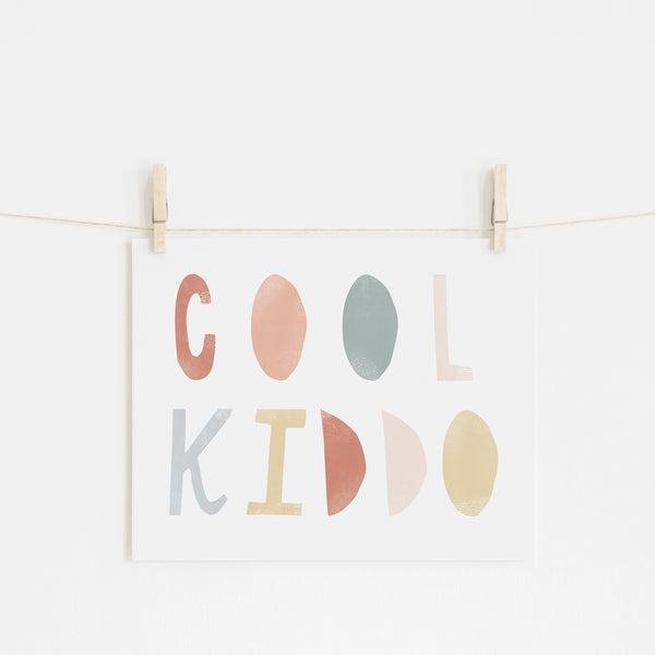 Cool Kiddo - Subtle |  Unframed