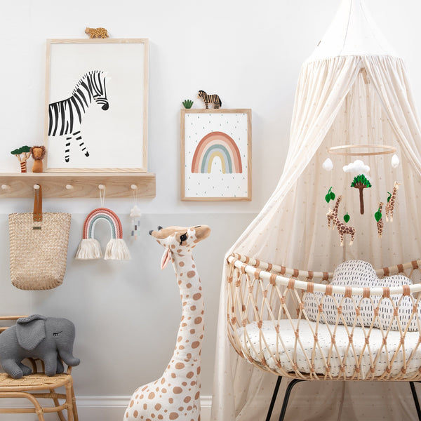 Zebra - Nursery Art |  Unframed