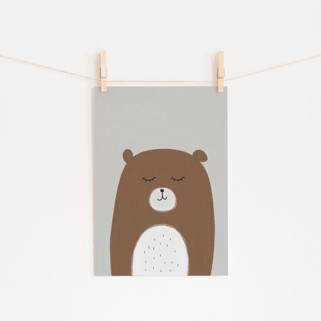 Sleepy Bear |  Unframed