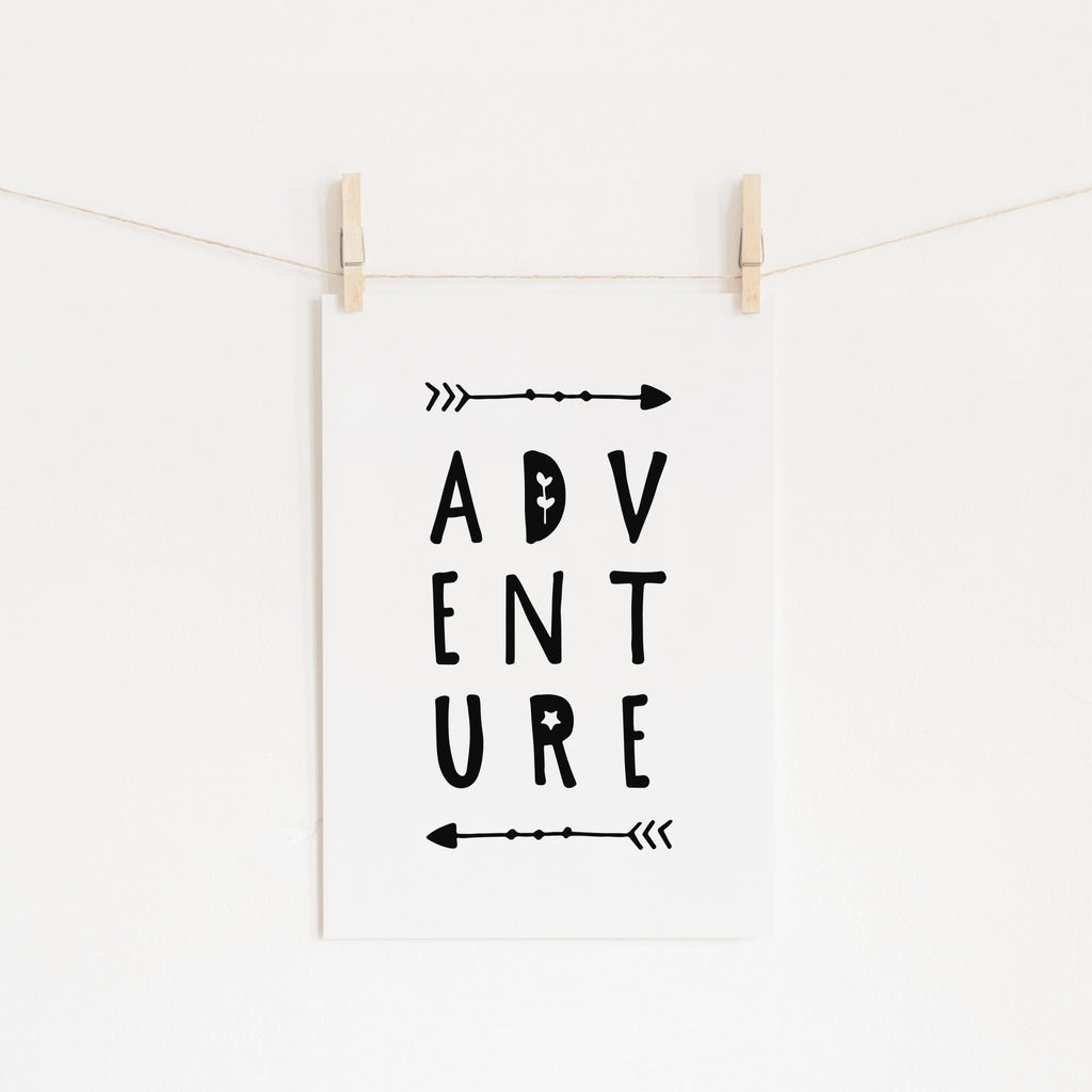 Adventure Quote |  Unframed
