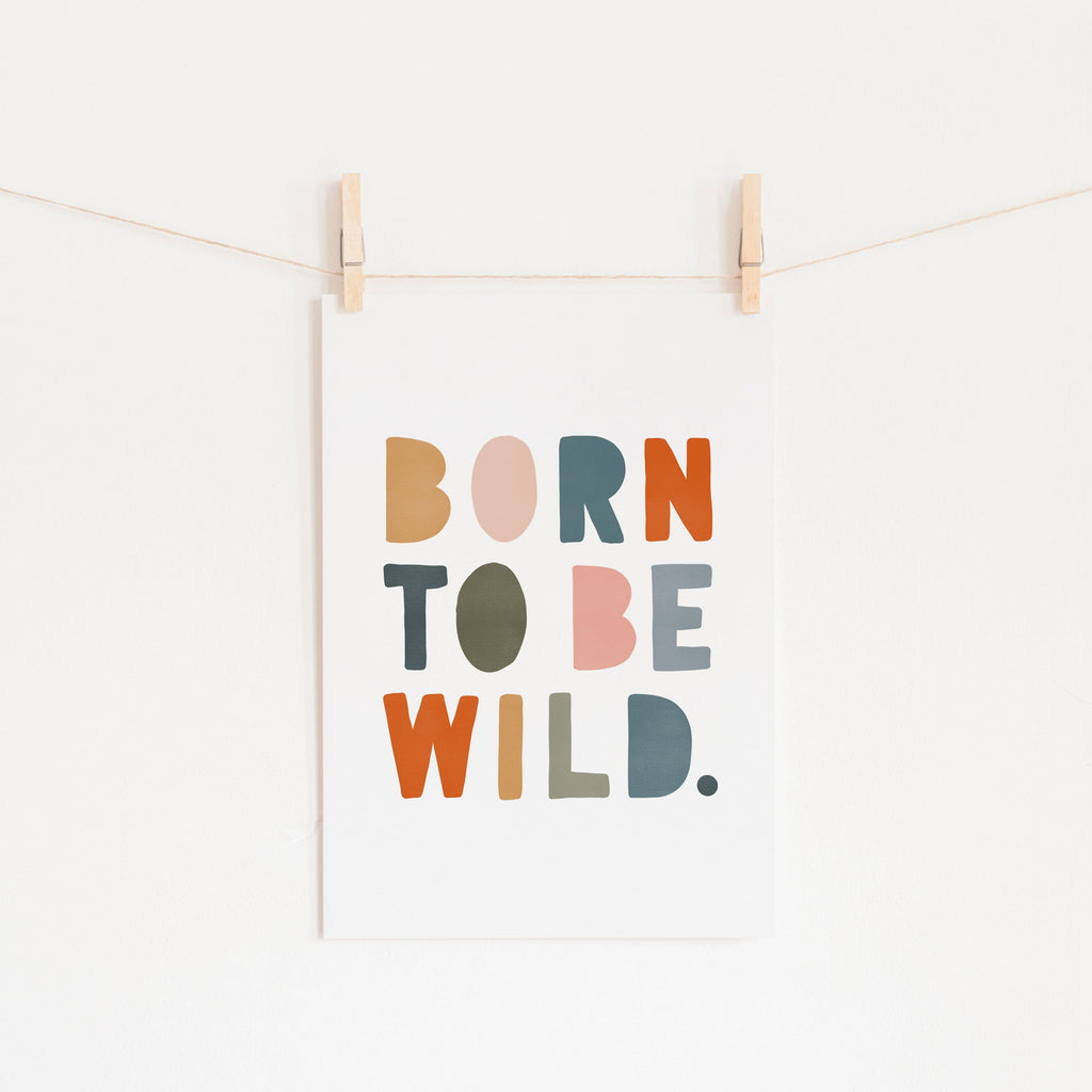 Born To Be Wild Print - Magic Carpet |  Fine Art Print