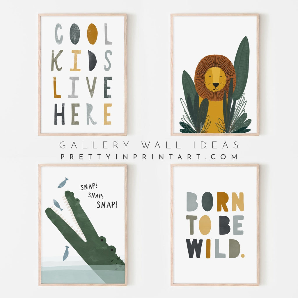 Born To Be Wild Print - Jungle |  Fine Art Print