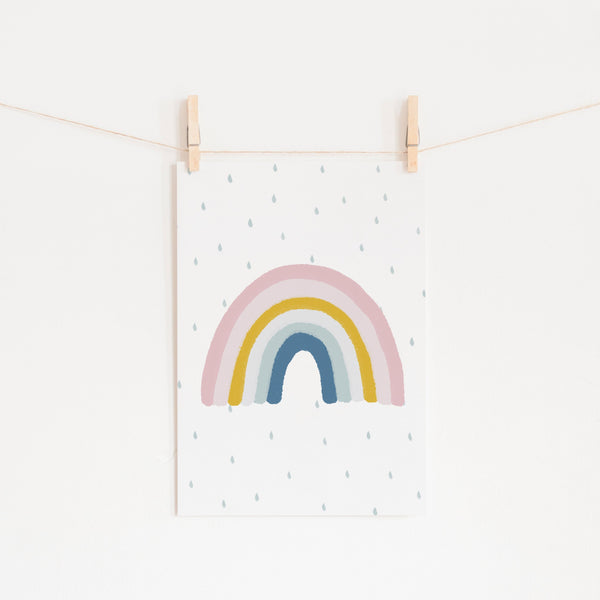 Rainbow Wall Art - Matches H&M Cushion |  Unframed