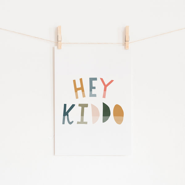 Hey Kiddo - Space |  Unframed