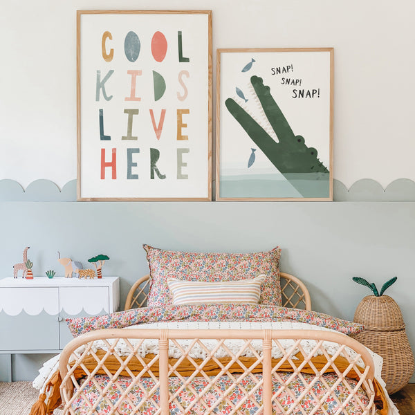 Cool Kids Live Here - Space Colours |  Fine Art Print
