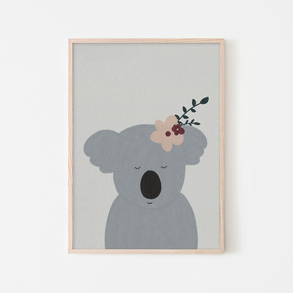 Sleepy Koala |  Framed Print