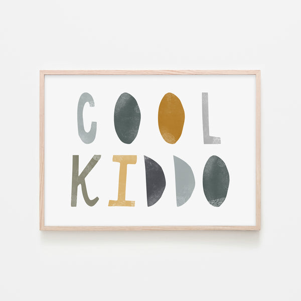 Cool Kiddo - Jungle |  Framed Print