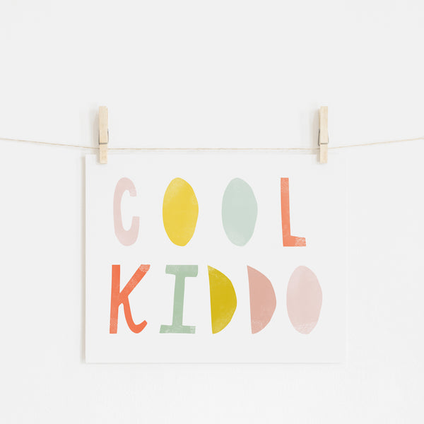 Cool Kiddo - Popsicle |  Unframed