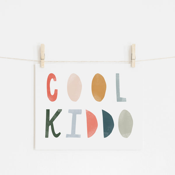 Cool Kiddo - Space |  Unframed