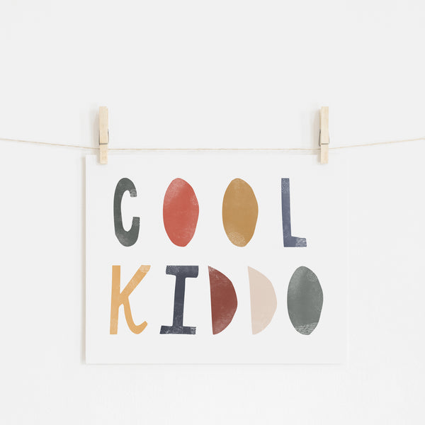 Cool Kiddo - Winter |  Unframed