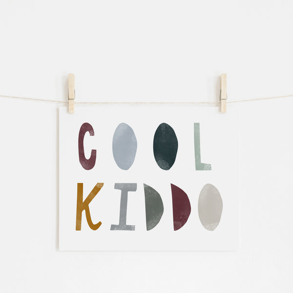 Cool Kiddo - Woodland |  Unframed