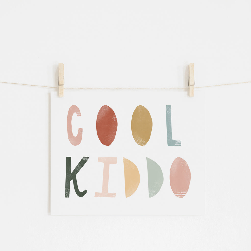 Cool Kiddo - Autumn Walk |  Unframed