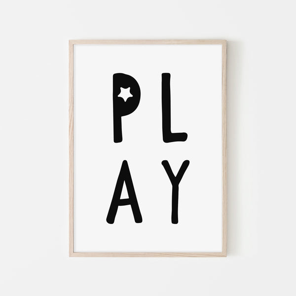 Play Quote |  Framed Print
