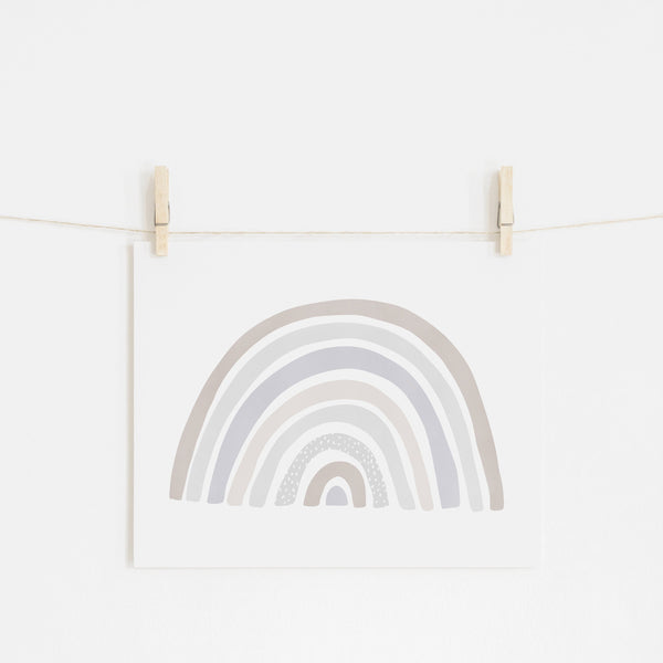 Scandi Rainbow - Natural |  Unframed