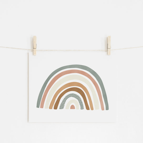 Scandi Rainbow - Watermelon |  Fine Art Print