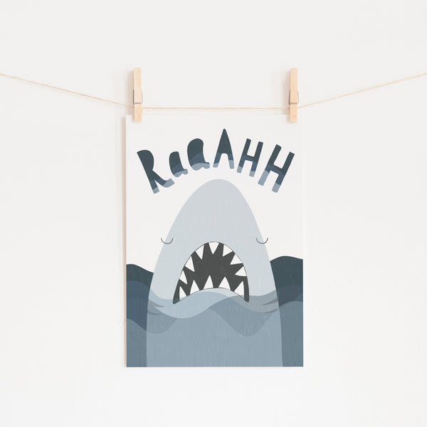 Shark Print - Jaws |  Unframed