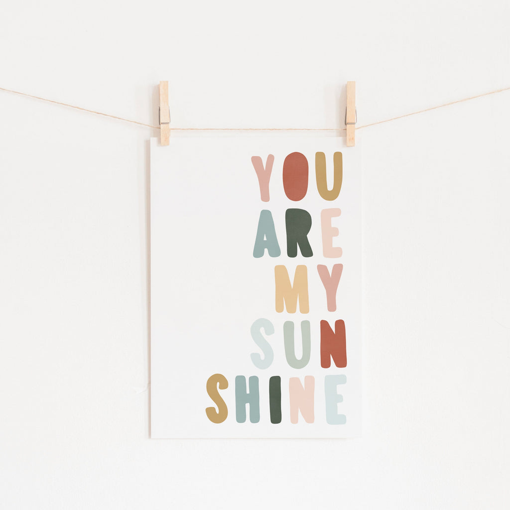 You Are My Sunshine - Autumn Walk |  Fine Art Print
