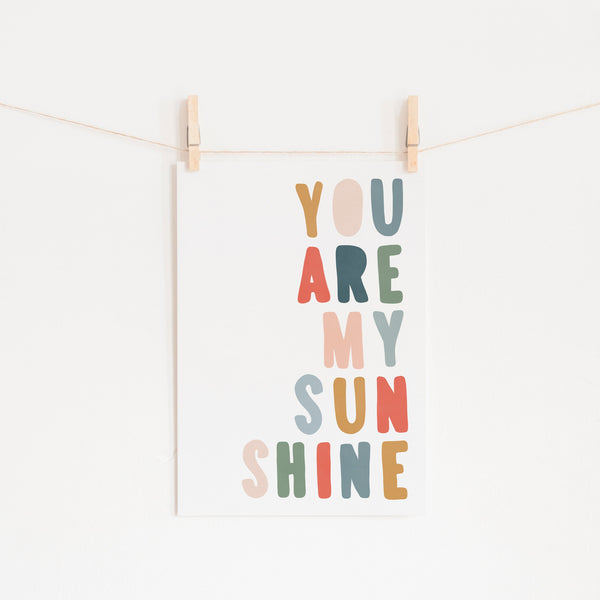 You Are My Sunshine - Magic Carpet |  Fine Art Print