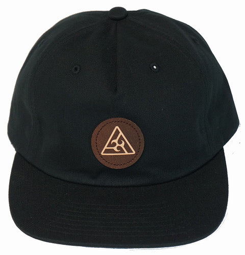 Triangle Twill Snapback Hat