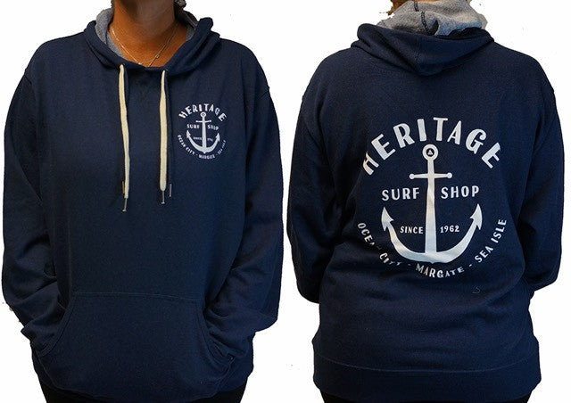 Anchor Terry Pullover Hoodie
