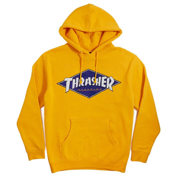 Sweats à capuche - Thrasher - Diamond Logo Hood // Gold - Stoemp