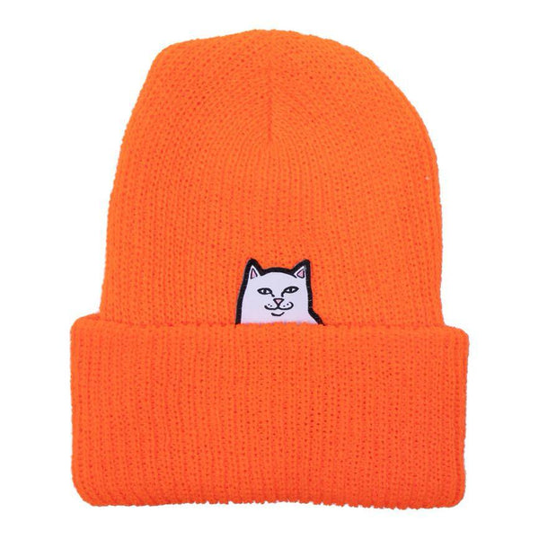 Bonnets - RipNDip - Lord Nermal Beanie // Orange - Stoemp
