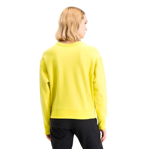 Light Goldenrod Crewneck Sweatshirt // 112726 // ACA Sweats sans capuche Champion Reverse Weave