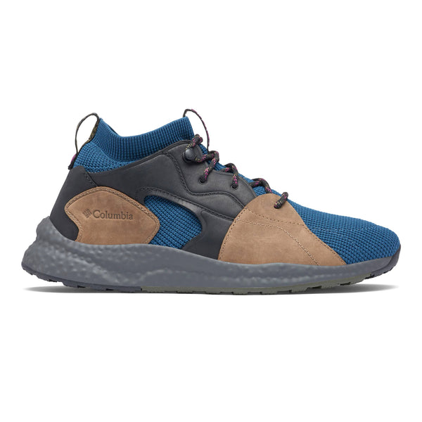 Rosy Brown SH/FT Outdry Mid // Petrol Blue Sneakers Columbia