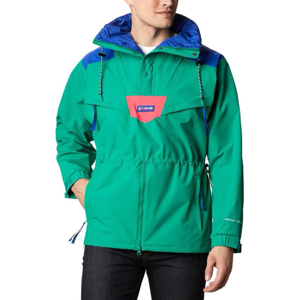 Light Sea Green Monashee Anorak // Emerald Green/Lapis Blue/Brt Geranm Vestes Columbia