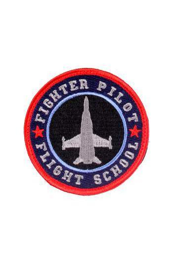 Black Fighter Pilot Morale Patch Autres Rothco