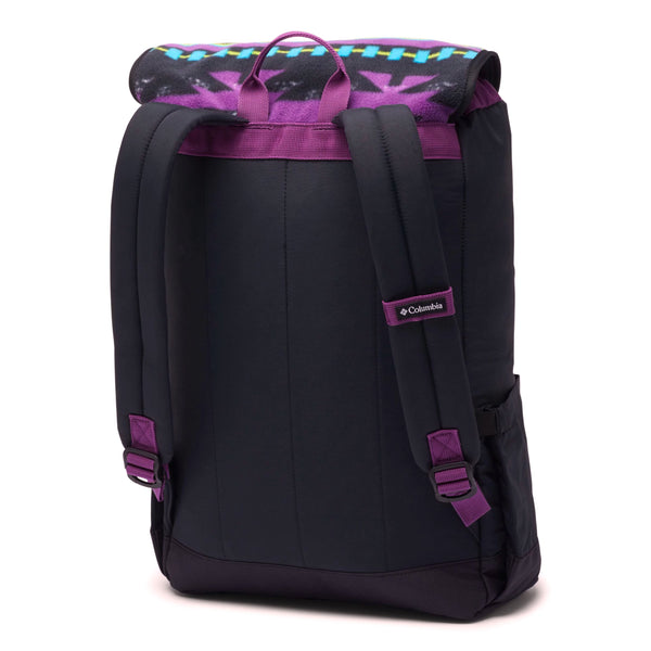 Black Falmouth Backpack // 21L // Black/Black Print Sacs Columbia