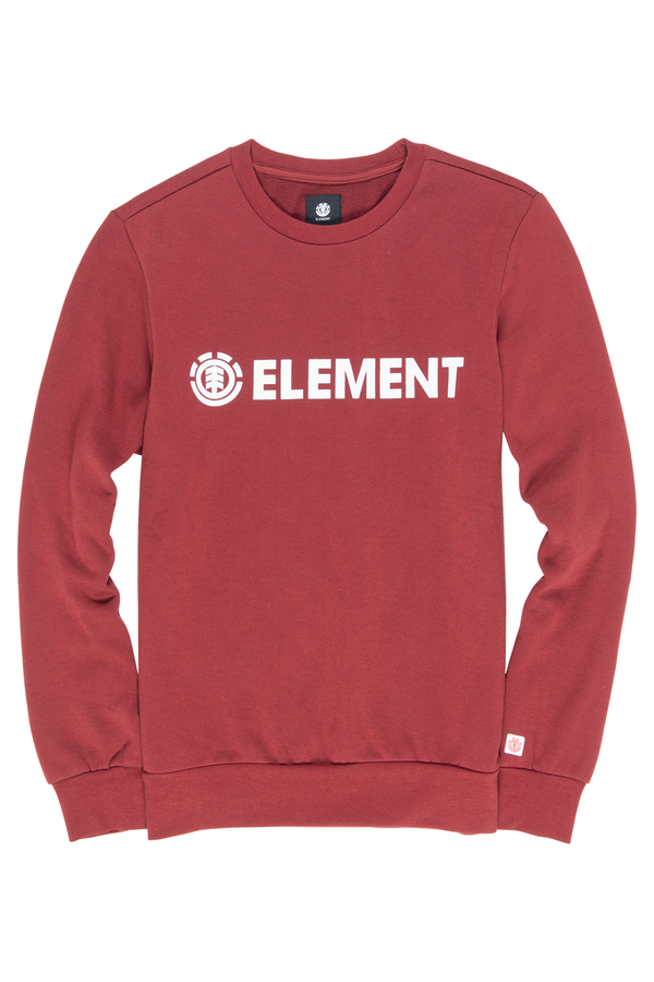 Maroon Blazin Crew Boy // Port Sweats sans capuche Element