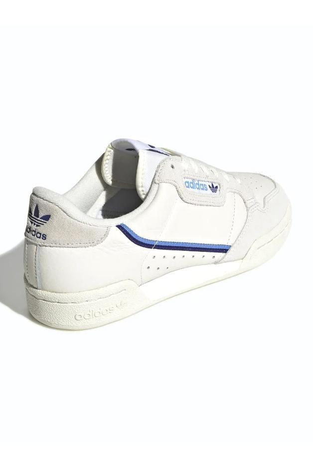 Sneakers Dark Slate Gray Adidas Continental 80 W // Off White/Blue // EE5557