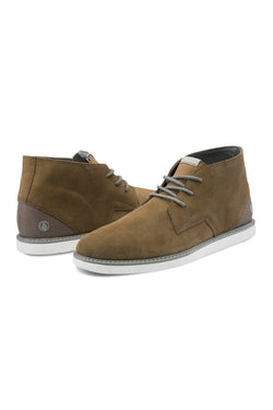 Sneakers Dark Olive Green Volcom Del Mesa // Rust