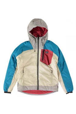 Gray Fordfields 4 Colour Blocked Jacket // Petrol Vestes Penfield